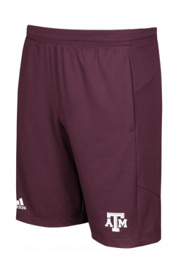 TXAM Maroon 10in Knit Short