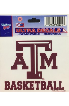 ATM Basketball 3x4 Decal