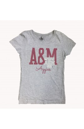 Girls A&M Bling DHth Crew