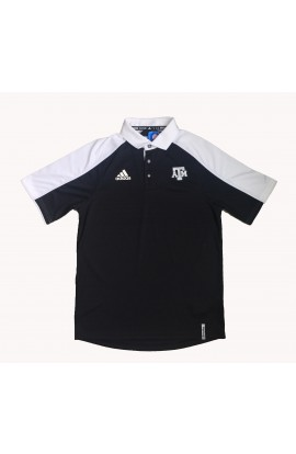 Adidas Wht/Blk Coaches Polo