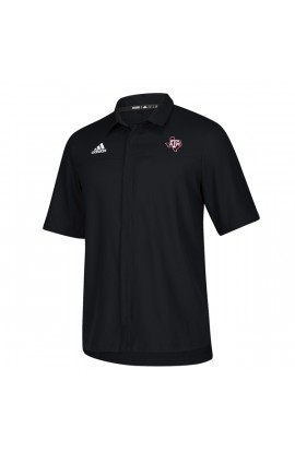 TXAM Black Full Button Polo