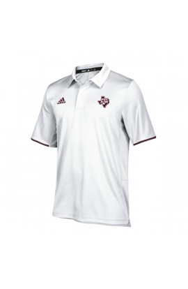 Texas A&M Wh/Ma Climalite Polo