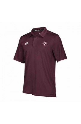 Texas A&M Ma/Wh Climalite Polo